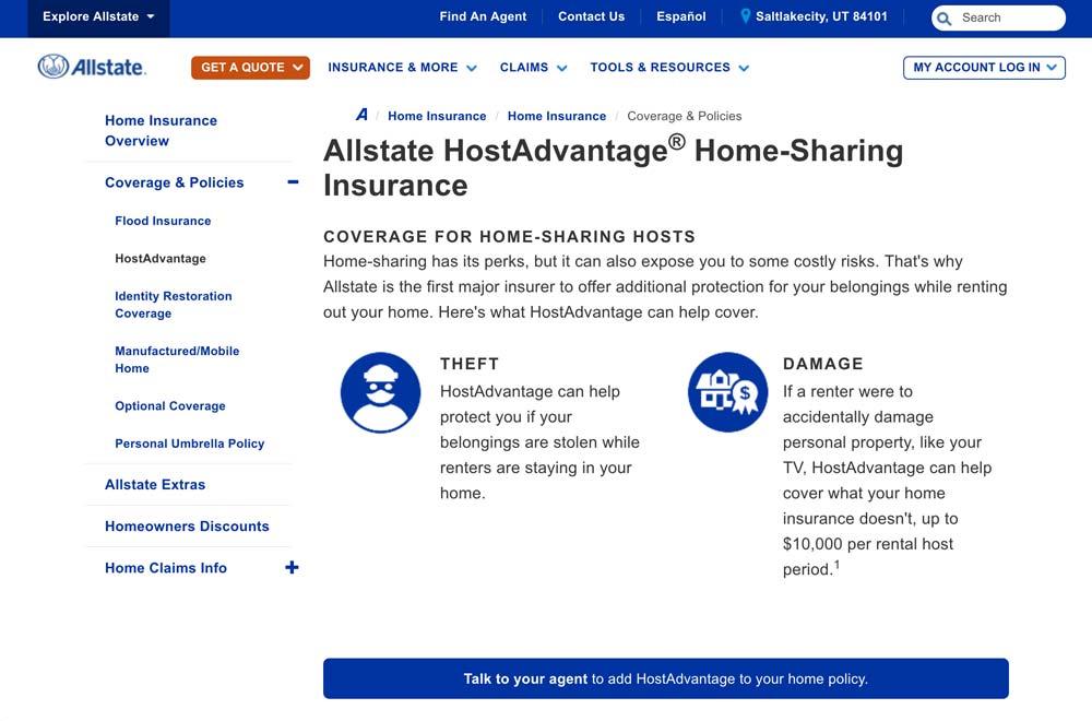Allstate Host Advantage
