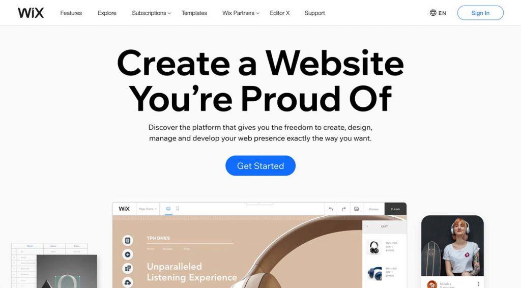 Wix Website Builder - for Vacation Rentals