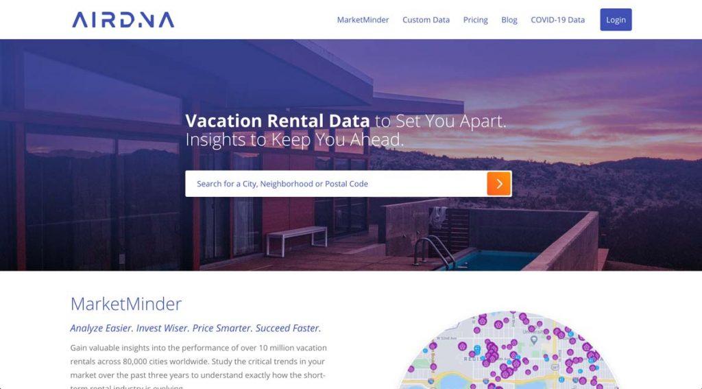 Airdna.co - Airbnb Data Analysis & Analytics