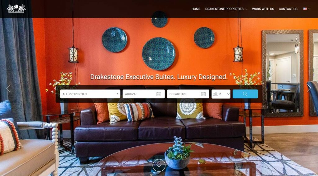 Lodgify Website Example - Drakestone Executive Suites
