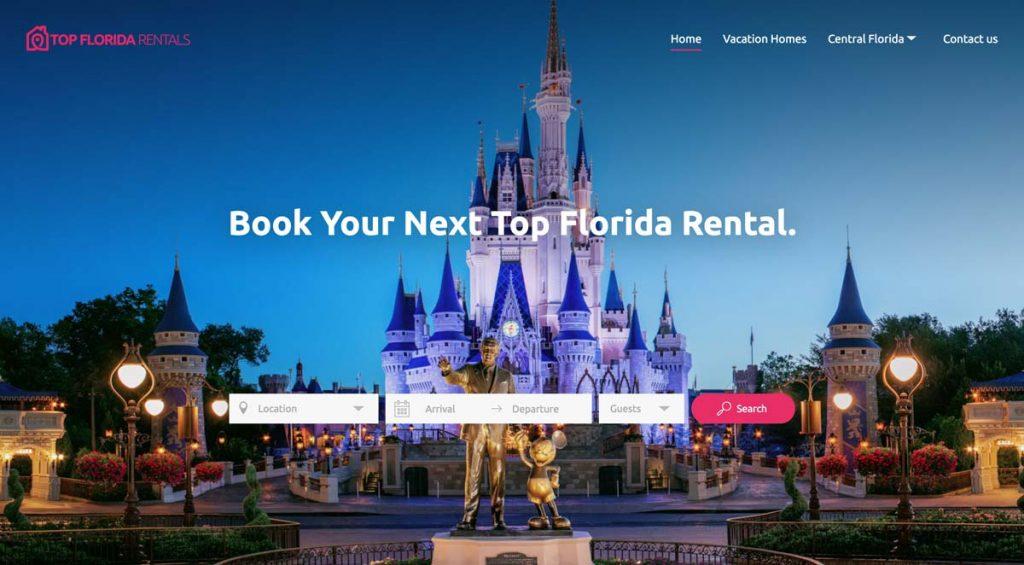 Lodgify Website Example - Top Florida Rentals