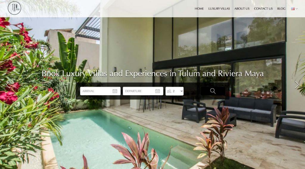 Lodgify Website Example - TRM Luxury Properties