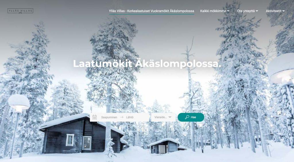Lodgify Website Example - Ylläs Villas
