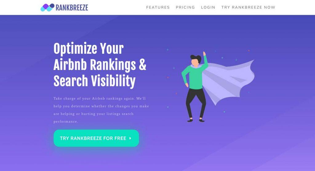 RankBreeze.com - Airbnb Ranking Optimization & SEO