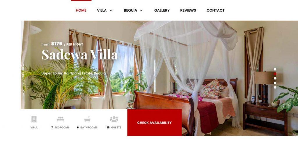 Tokeet Vacation Rental Website Example