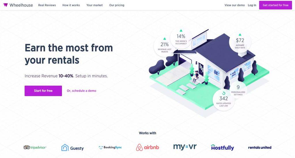 UseWheelhouse.com - Airbnb Dynamic Pricing Tool