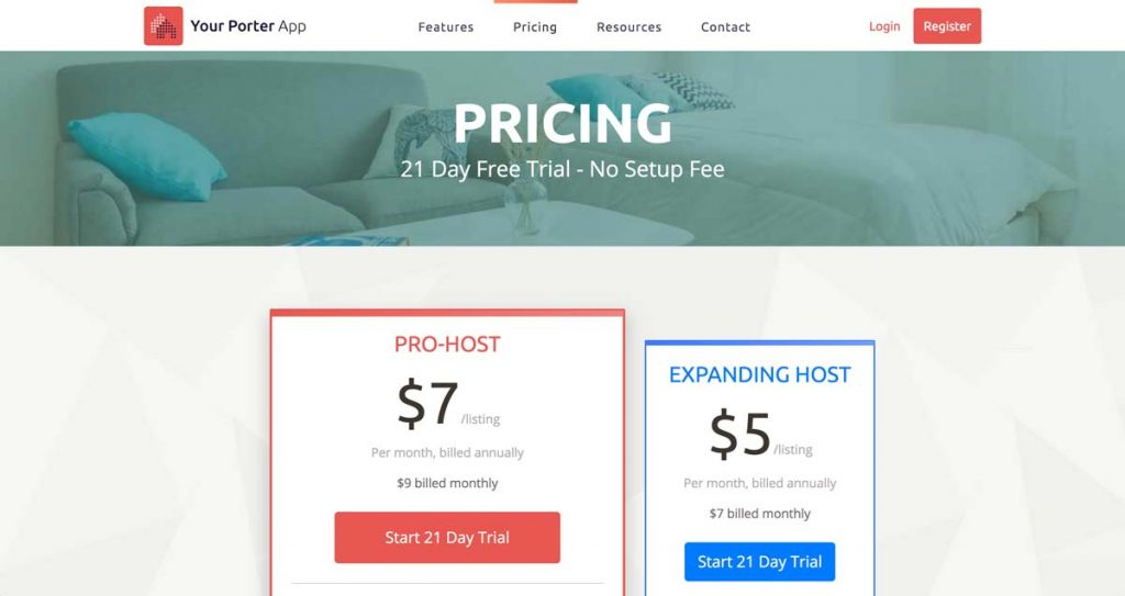 Your Porter Pricing Page - How much does Your Porter cost?
